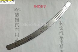 Wholesale For Mazda CX High quality stainless steel Rear bumper Protector Sill M24941 steel shower