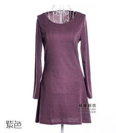 Spring and Summer Empire Dress long sleeve plain Women DRESS Women casual dresses, Size S,M,L,Free Shipping