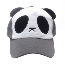Wholesale Best Deal New Casual Unisex Cotton Cute Panda Baseball Cap Sports Hat PC