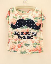Wholesale-Discount Promotion Crop top women t-shirt 2016 summer cropped tops tees short sleeve novelty print blusas femininas dropshipping