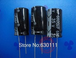 Wholesale V uf Electrolytic Capacitor Radial UF V x35mm