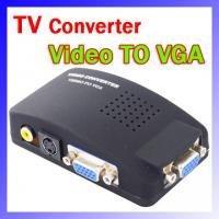 Promotion convertisseurs vidéo Vidéo sur PC VGA Convertisseur Adaptateur système de sécurité Switch