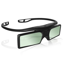 Wholesale 3D TV Projector Active Shutter Glasses for Epson For Samsung For SONY For SHARP Bluetooth G15 Bluetooth Active Shutter D Glasses