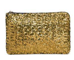 Wholesale Sequin Glitter Wallet - Women's Retail New Dazzling Glitter Sparkling Bling Sequins Evening Party purse Bag Handbag Women Clutch wallet