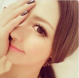 POP Japanes girl stylish false eyelashes winged false lashes extension natural fake eyelashes 20pairs upper eyelash full strip lashes hot