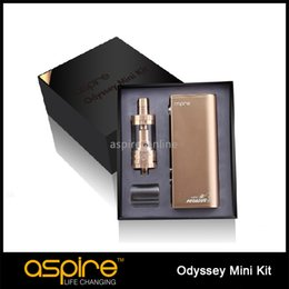 Wholesale Original Aspire Odyssey Mini Kit with Triton Mini Atomizer and Pegasus Mini Mod E Cigarette Kit Temp Control W Quest Mini Kit