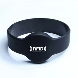 Wholesale active rfid wristband for activity guard tour RFID Bracelet Protocol ISO A Frequency MHz MF1 S50 CHip