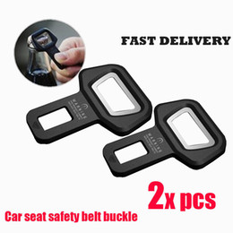 2X Seat Belt Control Buckle Clasp Insert Plug Eliminate Stop Alarm Fit All Cars Bootle Opener of Beer Bottle
