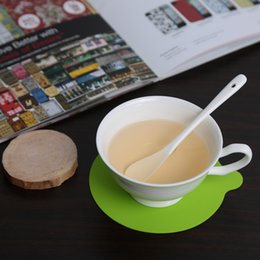 Wholesale Round Silicone Cup Coaster Mat Pad Tableware Dinnerware Placemat Kitchen Dining Bar Accessories Tools PC Table Decoration H15378