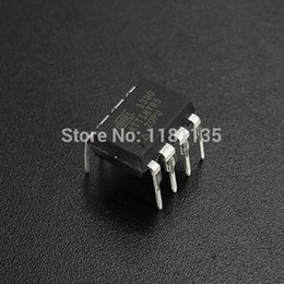 Wholesale 10PCS loo Original ATMEL DIP ATTINY85 PU Tiny85 PU For IC Chip Puce Neuf