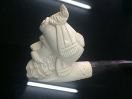 Wholesale Precious Turkey sepiolite Meershaum smoking pipes Hand Carved Collectibles Online Hot Sale