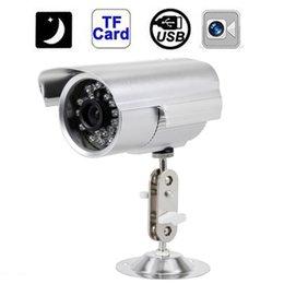 420TVL CCTV Camera Waterproof Outdoor CCTV Security Support Micro SD Card Night Vision DVR Recorder Indoor camera