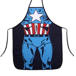 Wholesale 29 Types Funny Sexy Naked Super Woman Delantal Home Kitchen Cooking BBQ Apron Super Man Apron Whimsy Novelty Couples Party Gifts