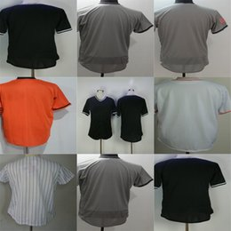 Wholesale Fashion Mens Womens Kids Personalized Miami Embroidered Logos Baseball Jerseys with any Name & Number can mix order