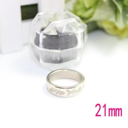 Wholesale-Free shipping factory outlets 21mm magnet ring magnetic ring magic trick ring magic prop nickel with crystal box