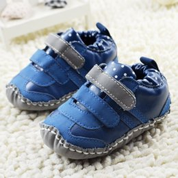 Wholesale 2105 Autumn New Arrival Baby First Walker Shoes Baby Soft Bottom Shoes Baby Toddler Shoes Infant Hand Eewing At The End CD269