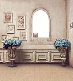Wholesale 300 cm ft ft fundo fotografico Antique Frame vase photography backdrops
