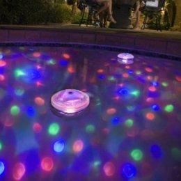 Wholesale New Hot Patterns Disco Aqua Underwater Glow Show Pond Cool LED Spa Tub Pool Light