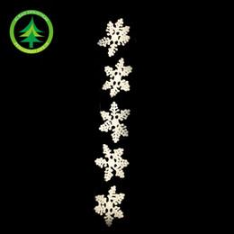 15cm foam fish line 5 snowflake Christmas ornaments Christmas decorations Christmas tree ornaments accessories 5   package