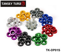 Wholesale Tansky SET JDM Style Fender Washers Bumper Washer Lisence Plate Bolts Kits for CIVIC ACCORD TK DP01S
