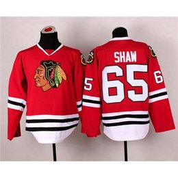 Wholesale Hot Sale Red Hockey Jersey Blackhawks Andrew Shaw Hockey Apparels in Stock Top Hockey Wears Profession Comfortable Athletic Gear Kits