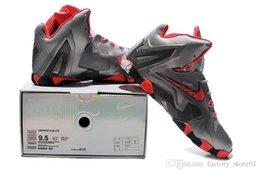 Wholesale Nike James Lebron Men Basketball Shoes Mens Lebron XI Elite Basketball Shoes Nike Sport Sneakers factory_store01