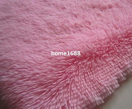 Wholesale on sale CM pink color carpet baby floor rug for living room pets mat door mat cheap