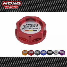 Wholesale Mugen Aluminium Oil cap Fuel Tank Cap Cover for honda