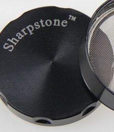 Wholesale Sharp Stone herb metal grinder SharpStone parts Hard top tobacco Grinders Diameter mm mm mm mm colors grinder tobacco