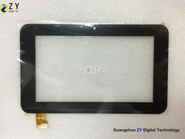 High quality 7 inch Tablet PC Capacitive Touch Screen touch panel digitizer Ampe A76 Sanei N77 Tablet MID Replacement ZJ-70055A ZY TOUCH
