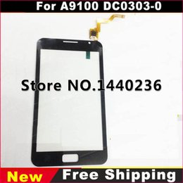 Wholesale 100 New Original Touch Screen Digitizer For A9100 DC0303 Front Glass lens External screen A9100 touch panel