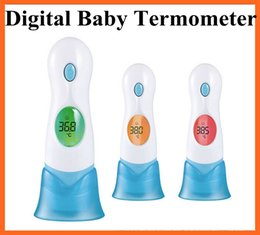 Wholesale 20pcs Hot now free ship with track number in Digital IR Thermometer For Adult Baby Portable