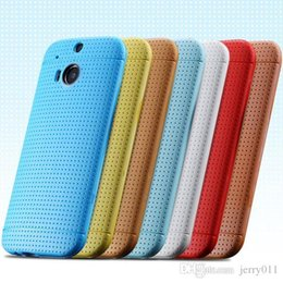 M8 Case Slim Phone Cover for HTC One M8 Back Phone Shell Perfectly Fit Protective Skin Durable Case For HTC