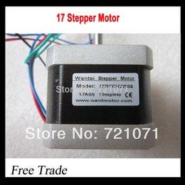 Wholesale 5pcs lead Nema Stepper Motor BYGHW609 oz in mm A CE ROSH ISO CNC Laser Grind Foam Plasma Cut