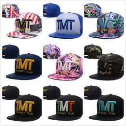 Wholesale 2016 New arrival cotton baseball TMT caps men s gorras bone aba basic cap fashion color hip hop snapback hats
