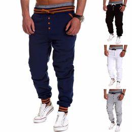 Descuento sarouel men Harem Pantalones Hombre del nuevo estilo Casual  Fashion Classic Slim Fit Hombres