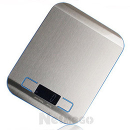 Wholesale Stainless steel electronic kitchen scale baking scale tea chinese herbal medicine platform scale kg g