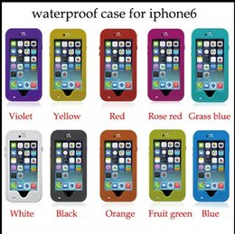 Wholesale Waterproof Case cover For iPhone S S C Plus Redpepper Shockproof Cases with kick off Stand cover finger print