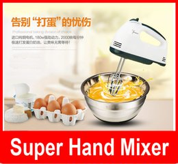 Wholesale super hand mixer Still moving authentic special mini power hand held electric mixer beat eggs household Whisk
