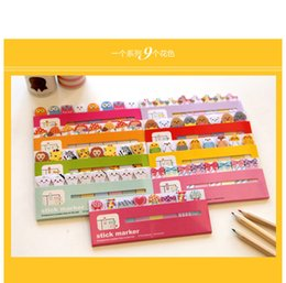 Wholesale New cute animal sticky notes Memo sticky note pad