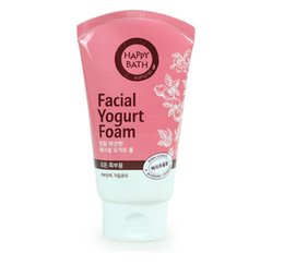 Wholesale Amore Facial Yogurt Foam Cleansing Milk For Women Hydrating whitening foam cleanser oil control acne Treatment Lowest Price