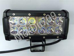 Diecast Aluminum 36W High Intensity LED Fishing Floodlight Hunting Search Lamp Work Light Tractors 6500K 12Pcs Ctn