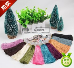 Wholesale-Crystal tassels hanging Sui curtain accessories lace decorative accessories hanging ball lob mantle head table flag