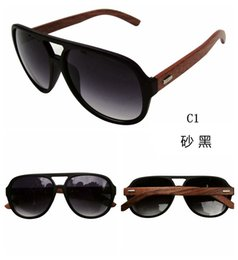 Wholesale Hot Sell Wood Sunglasses Designer Natrual Bamboo Sunglass Eyewear Glasses Style Hand Made WoodeAn Temples Plastic FrameZy00010