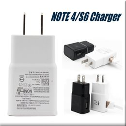 Wholesale For Note Galaxy Wall Charger Travel Adapter Fast Flash Plug Full V A A IC High Quality Quick Speed Charger Plug For Note5 No Package