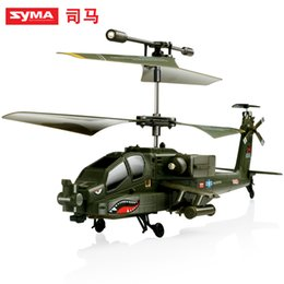 Wholesale Syma S109G Apache AH Channels Mini Indoor Helicopter RTF