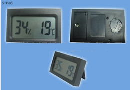 Mini Digital LCD Car outdoor Thermometer & Hygrometer TH05 Thermometers Hygrometers in stock fast shipment by DHL fedex