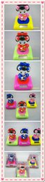 Wholesale Solar Uniform Fan Japan girl Solar shaking his head doll Auto accessories Solar toys kinds of styles