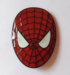 Spider Man Mask Belt Buckle