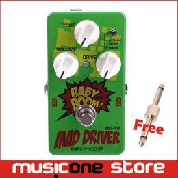 Wholesale Biyang OD10 Guitar Bass Effects Pedal Three Models Mad Drive Overdrive MU0166